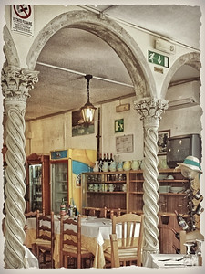 Restaurant off the Amalfi Coast 10/15/2014